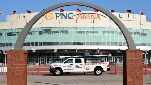 PDS Truck and PNC Arena